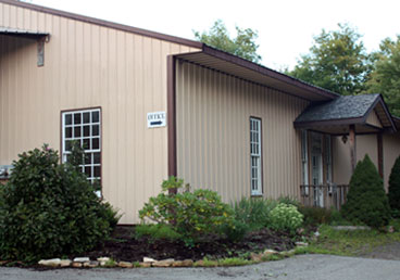 photo of Heritage Millworks shop in Guys Mills